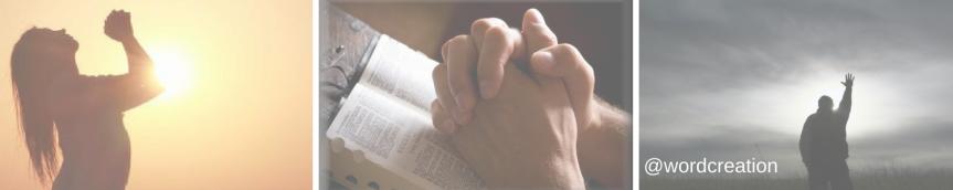 Prayer? How exactly should I prayer to The LivingGod?