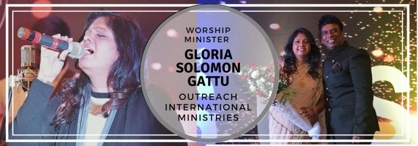 AND JESUS SAID YOU ARE MY WORSHIP MINISTER: GLORIA SOLOMONGATTU